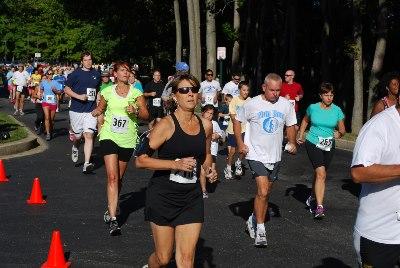 Nun Run 5k race photo