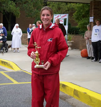 Nun Run 5K winners