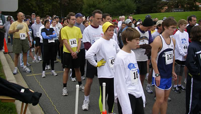 Nun Run 5k race photo