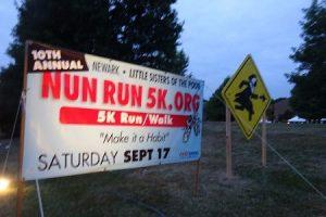 Nun Run 5k in Newark DE