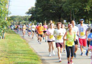 Nun Run 5K race in Newark DE