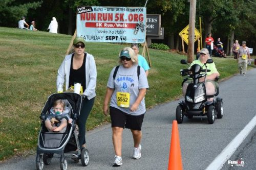 Nun Run 5K race in Newark DE