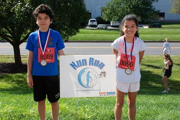 Nun Run 5k race in Newark